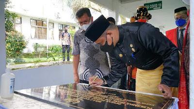 Wali Kota Medan Resmikan Ruangan ICU Pasien Covid-19 di RSUD Pirngadi