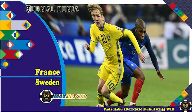 Prediksi Prancis Vs Swedia, Rabu 18 November 2020 Pukul 02.45 WIB @ Mola TV