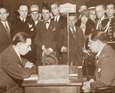 Torneo Internacional de la Exposición de Barcelona de 1929, partida de ajedrez Edgar Colle - Capablanca