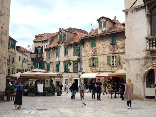 Fruit Square, Split, Croatia
