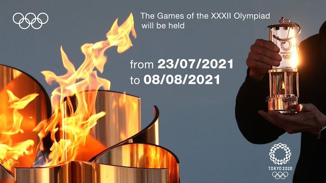 Olimpik Tokyo 2020 Telah Ditunda Kepada Tarikh Yang Baru