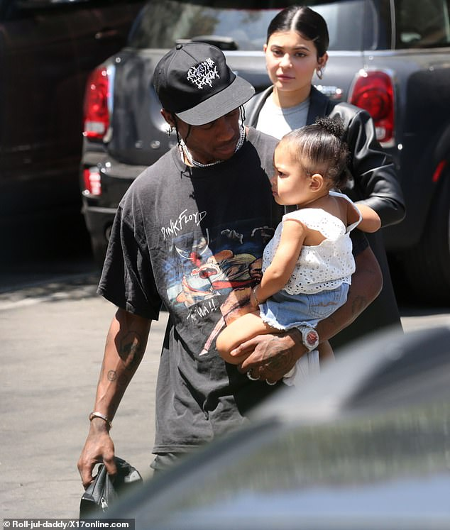 Kylie Jenner treated to a Mother's Day lunch by boyfriend Travis Scott