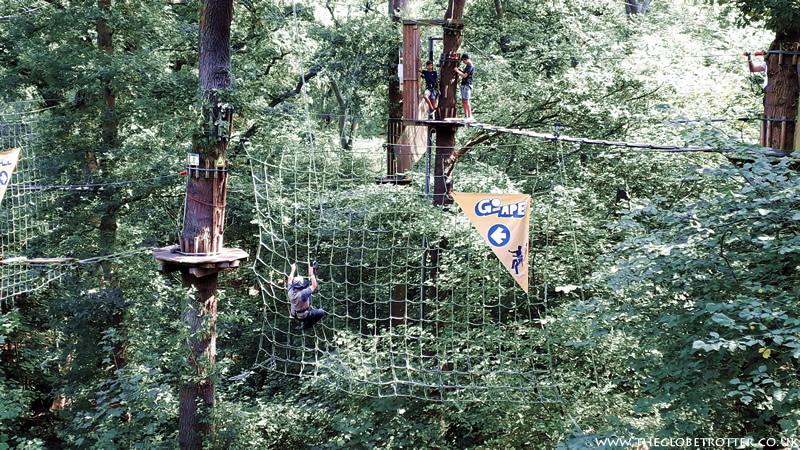 Tarzan Swing - Go Ape Cockfosters