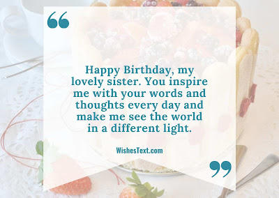 wishes image of sister birthday
