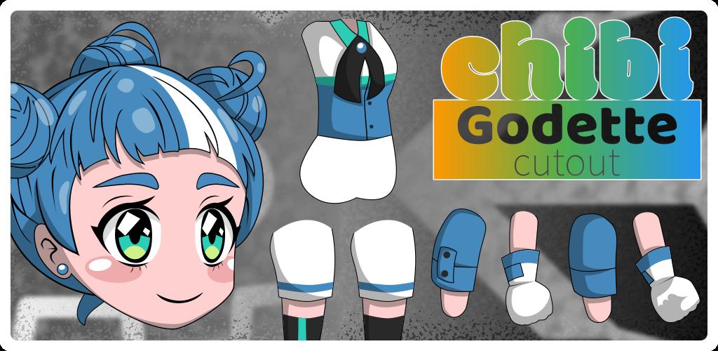 Chibi Godette Cutout