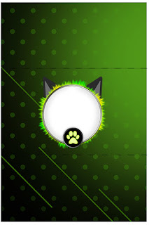 Cat Noir Free Printable Labels.