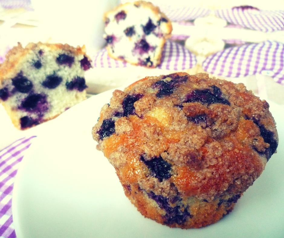 muffiny jagodowe jagodzianki