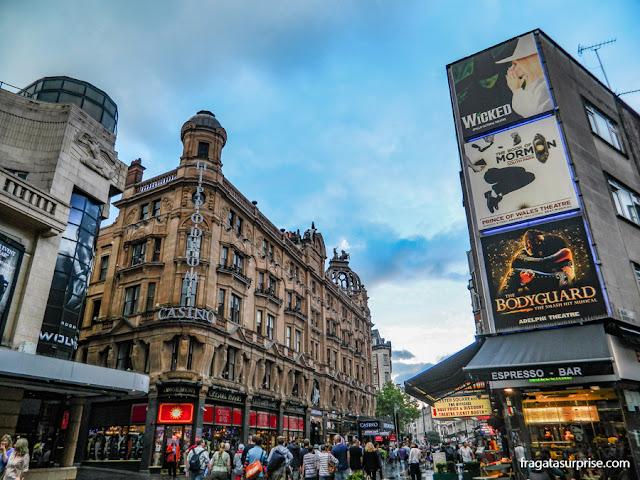 Cinemas na área de Leicester Square, Londres