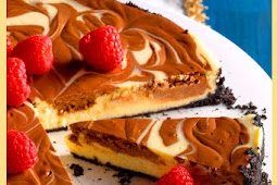 Diabetic Friendly Dessert Recipe - Chocolate Swirled Cheesecake