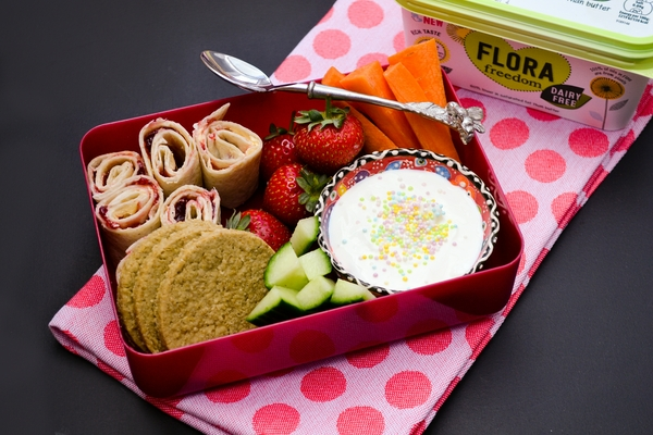 FRIDAY - vegan kids lunch box
