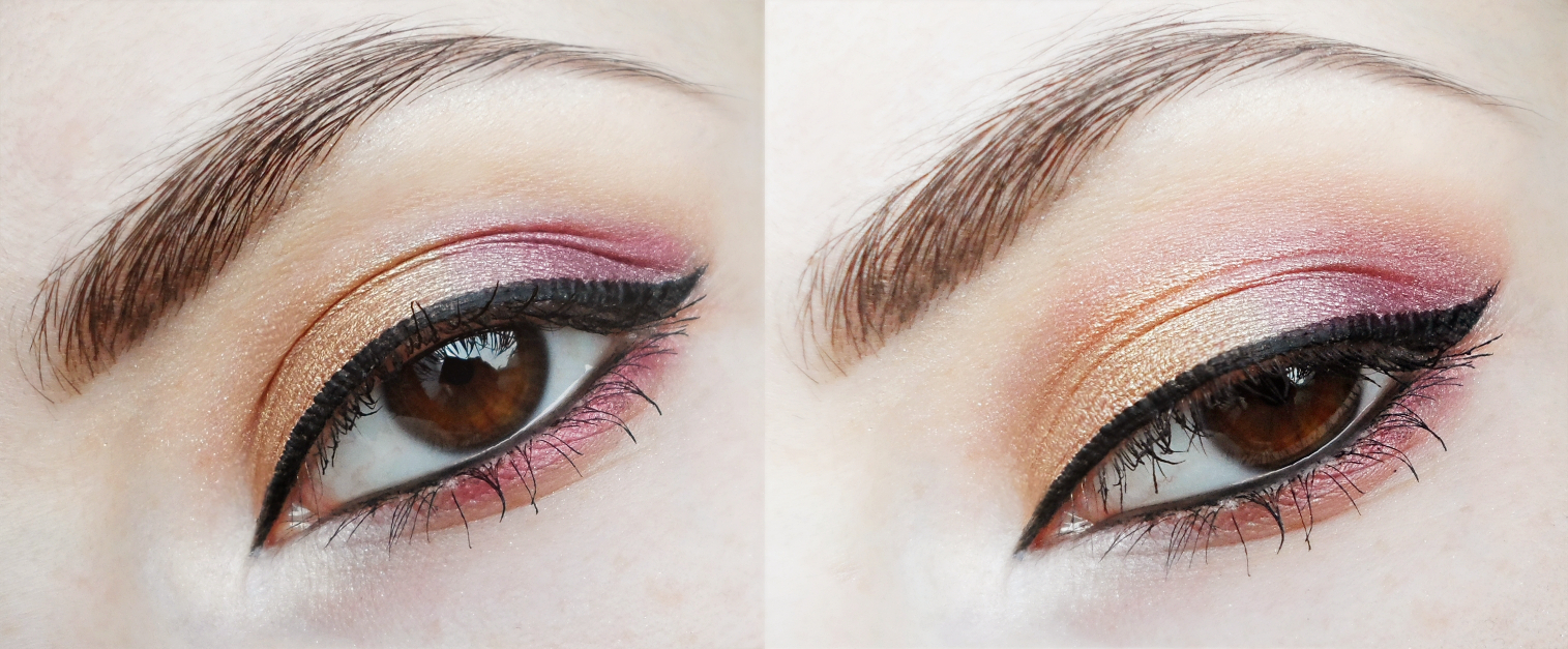 christmas makeup tutorial, golden makeup