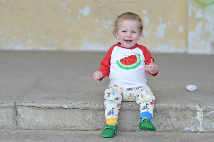 watermelon boy clothes, tootsa macginty, unisex kidswear