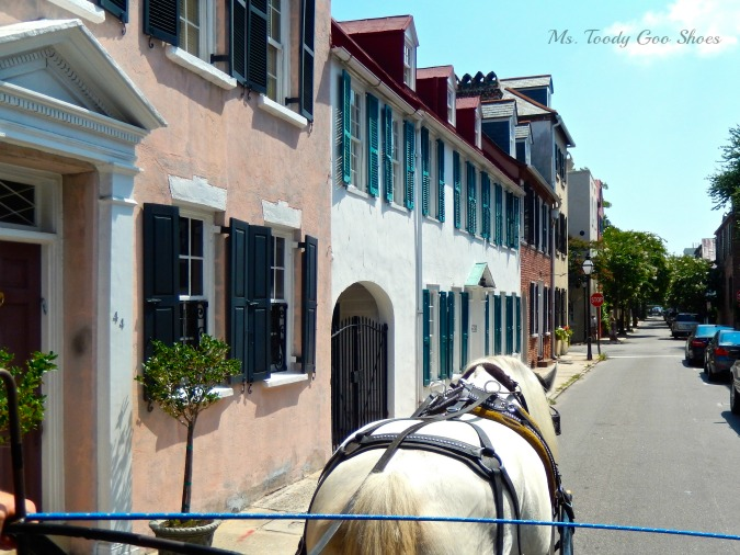 Carriage Ride Through Charleston, SC...perfect way to see the city! by Ms. Toody Goo Shoes #Charleston #Travel