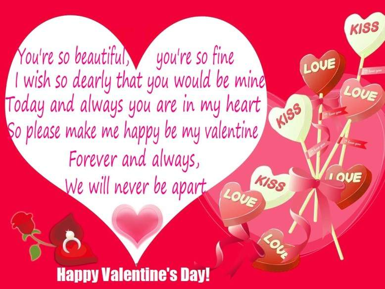 2017 Romantic Valentine Day Poems Love Poems for Valentines Day – Valentines Card Poems
