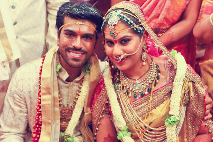Actor Film Producer Ram Charan Marries Childhood Friend