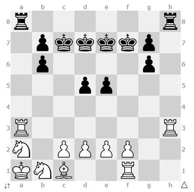 8 Moves CheckMate Puzzle