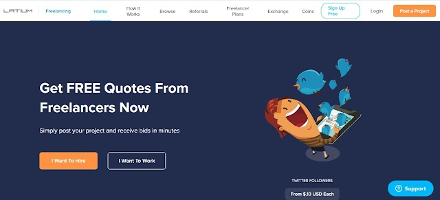 Perform Different Task On Latium Get Paid in Dollars or Bitcoin