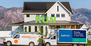 NASDAQ: RUN Sunrun Inc. stock price chart