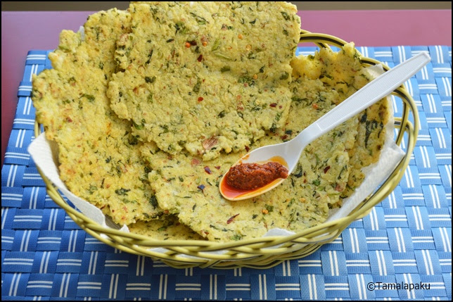 Little Millet - Methi Roti