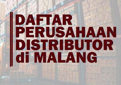 Daftar perusahaan distributor di Malang, Jawa Timur