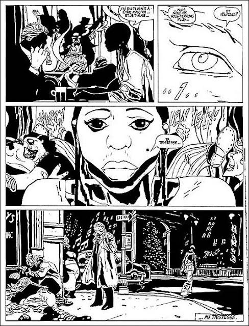 Page de Alack Sinner flic ou Privé de Munoz et Sampayo chez Casterman