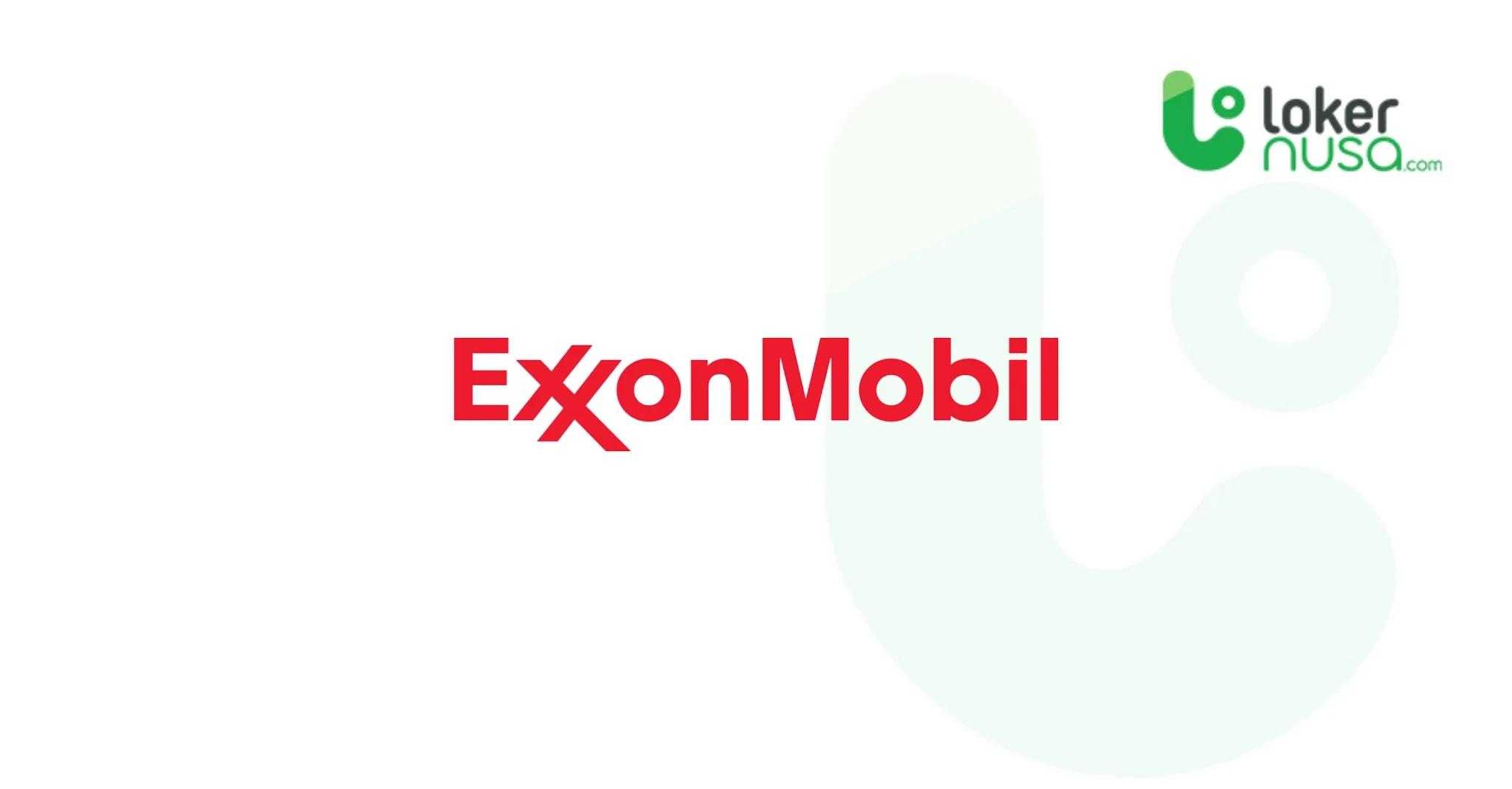 Lowongan Kerja Terbaru Exxon Mobil