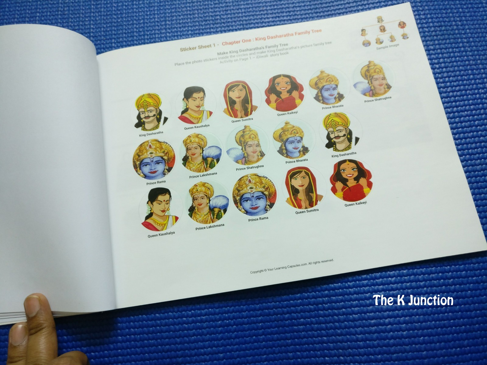 Rama and the demon king an ancient tale from india ebook coupon the k junction october 2017 extra stickers so that if few are lost by kids the fandeluxe Images