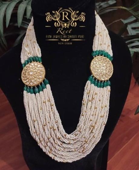 Multi Layer Pearls Haram