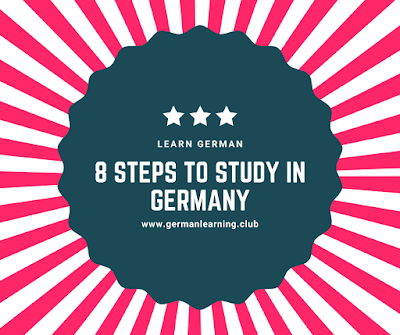 how to study in germany for free? - 8 Steps to Study in Germany.