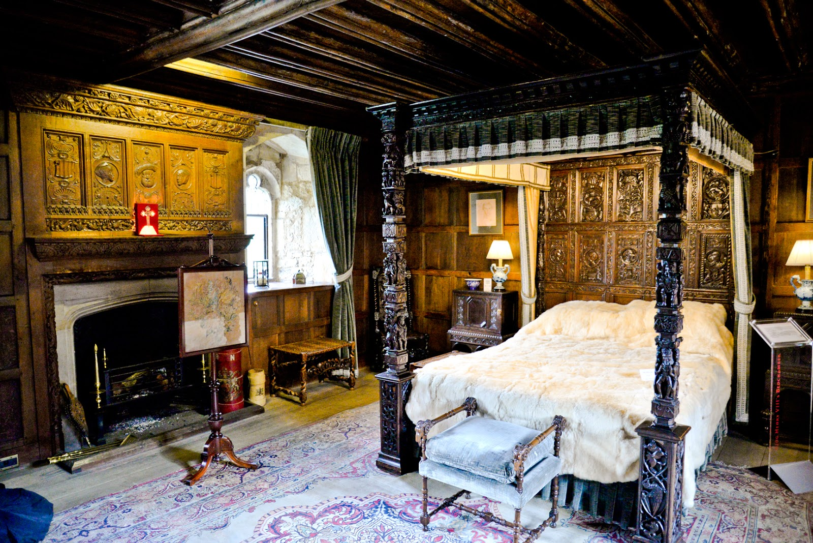 henry viii bedroom hever castle