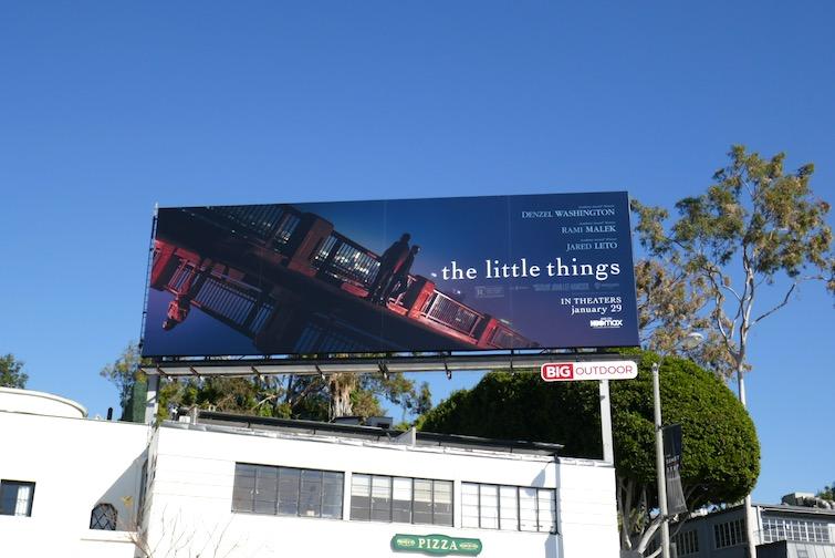Little Things film billboard
