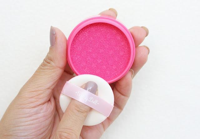 a photo of Cathy Doll C'est Bon Bon Cushion Blusher in Sugar Pink