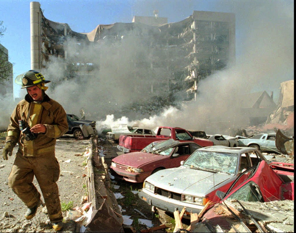 a study of the oklahoma city bombing The oklahoma city bombing would be considered the worst terrorist attack on america prior to the 9/11 world trade center attack just outside of the alfred p murrah.