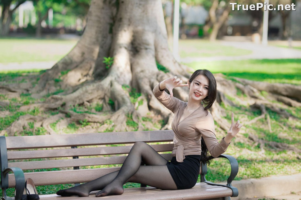 Image Taiwanese Model - 杨宓凌 - Concept The Office Girl - TruePic.net - Picture-6