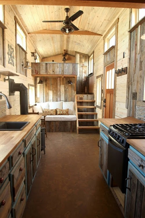 01-Kitchen-Living-Room-and-Master-Bedroom-Sustainable-Architecture-with-a-Tiny-House-on-Wheels-www-designstack-co