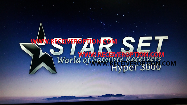 STAR SET HYPER 3000 HD RECEIVER AUTO ROLL POWERVU KEY NEW SOFTWARE