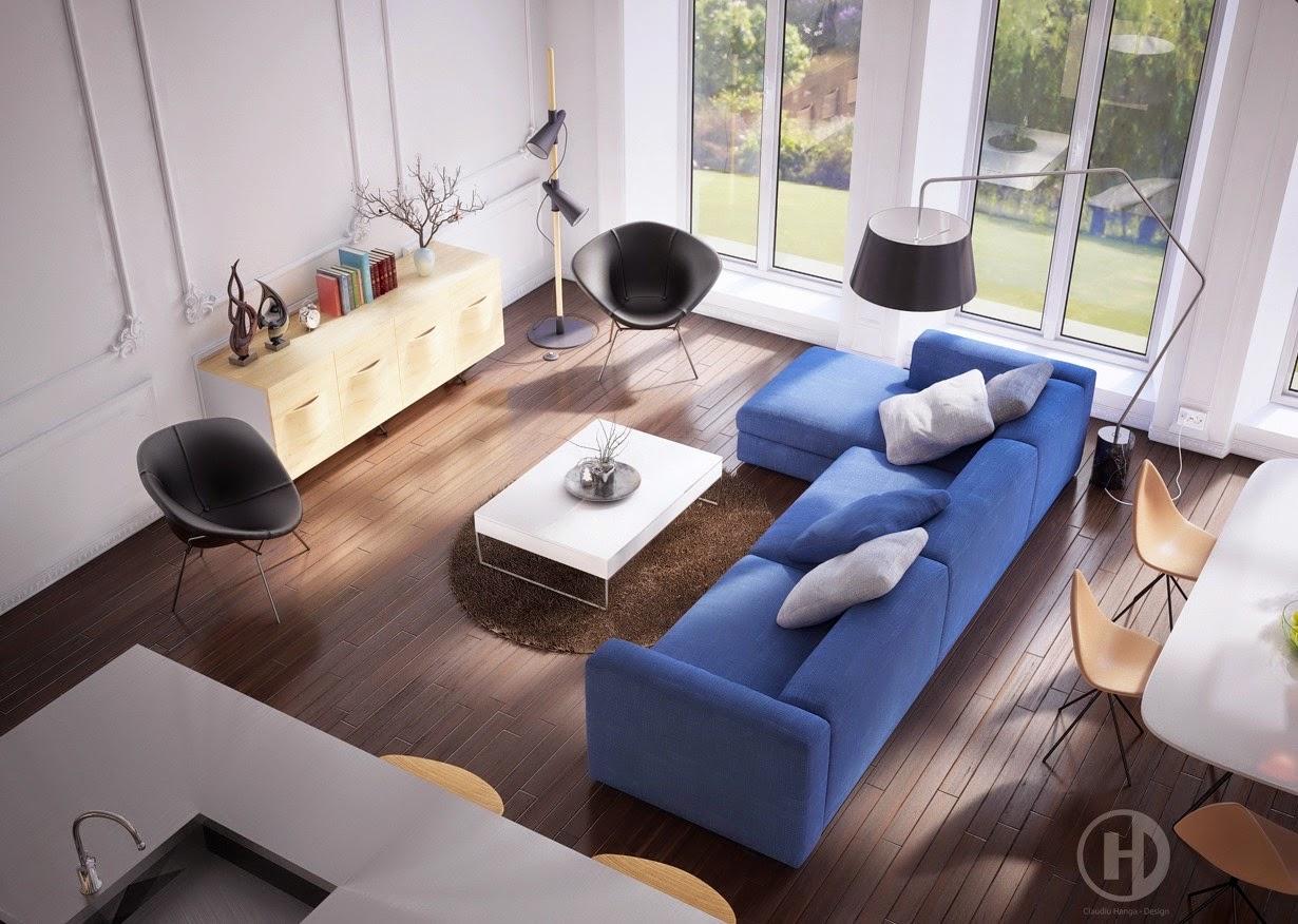 Neutral Blue 10 Fotos De Salas Modernas Que Todos Quisi 233 Ramos Tener En