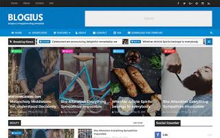 Multipurpose Blogger Templates