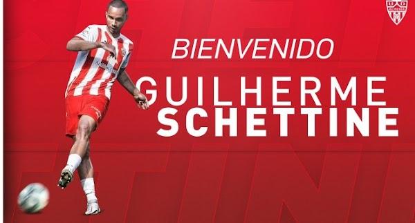 Oficial: Guilherme Schettine llega cedido al Almería