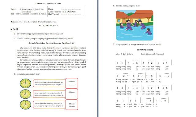 Soal PH Kelas 2 SD/MI: Tema 8