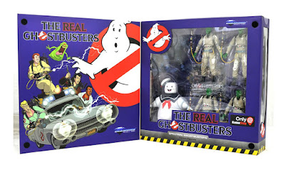 San Diego Comic-Con 2019 Exclusive Real Ghostbusters Spectral Edition Select Action Figure Box Set by Diamond Select Toys