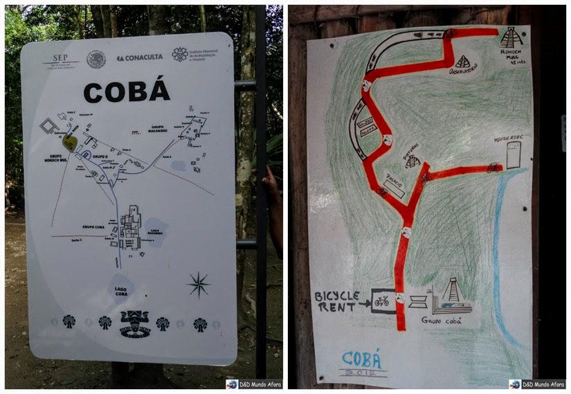 O que fazer em Cobá - México