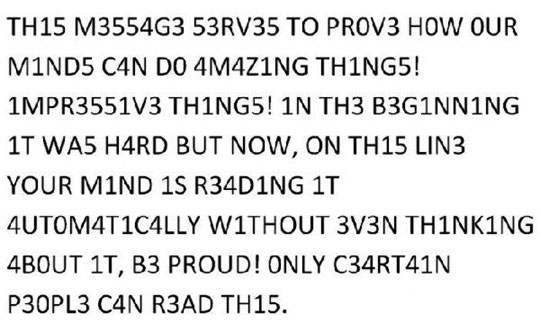 only certain people can read this