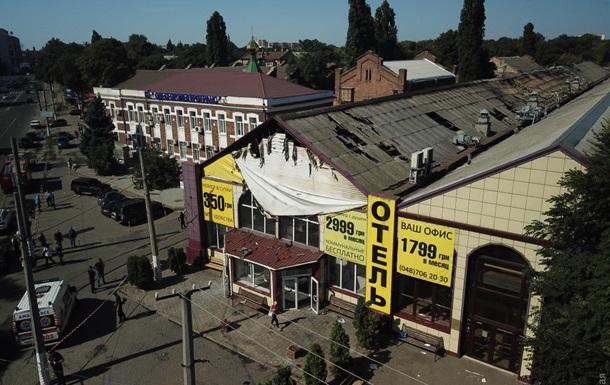 З'явилися фото і відео з місця пожежі в Одесі