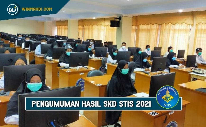 Pengumuman Hasil Tes SKD STIS 2021