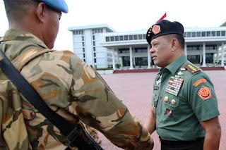 Panglima TNI : Tugas Menjaga Perdamaian Dunia Suatu Kebanggaan