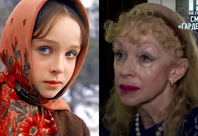 """Как выглядит 72-летняя Настенька из """"Морозко"""", решившая, что уколы красоты спасут её от старости"""