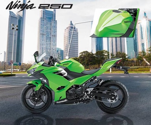 harga kawasaki ninja 250 baru