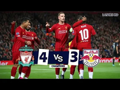 Liverpool vs Red Bull Salzburg 4-3 All Goals And Match Highlights [MP4 & HD VIDEO]