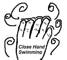 Image of a hand with closed fingers.